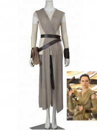 Star Wars: Episode VII- The Force Awakens Rey Cosplay Suit