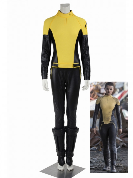 Negasonic Teenage Warhead Costum X-MEN Deadpool Cosplay Full Set