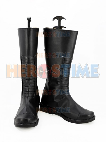 Inhumans Cosplay Shoes Black Bolt Cosplay Boots