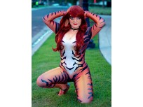 2019 Red Black Cat Cosplay Costume Marvel Comics Costume