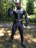 Black Panther 2018 Killmonger Golden Jaguar Costume No Mask