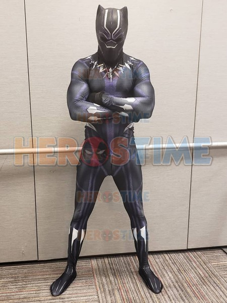 Black Panther 2018 Kinetic Costume No Mask