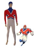 Captain Britain Spandex Superhero Costume