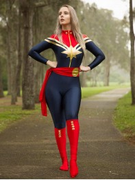 Carol Danvers Suit MsMarvel Superhero Costume