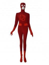 Daredevil suit Red Custom Superhero Costume