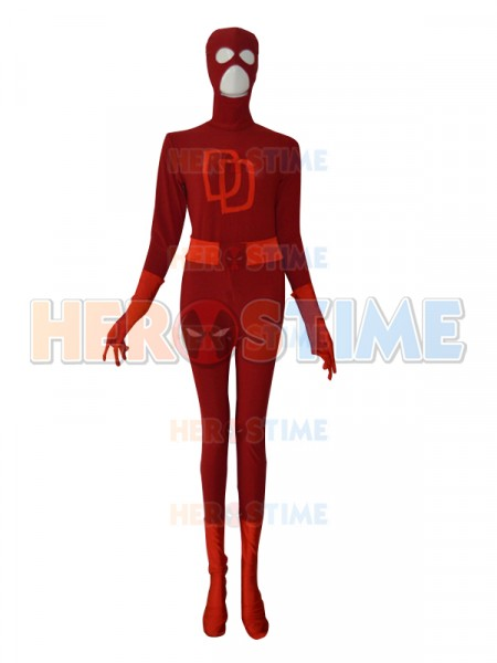 Daredevil suit Red Custom Superhero Costume