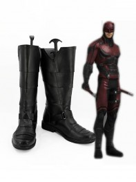 TV Series Daredevil Faux Leather Cosplay Boots