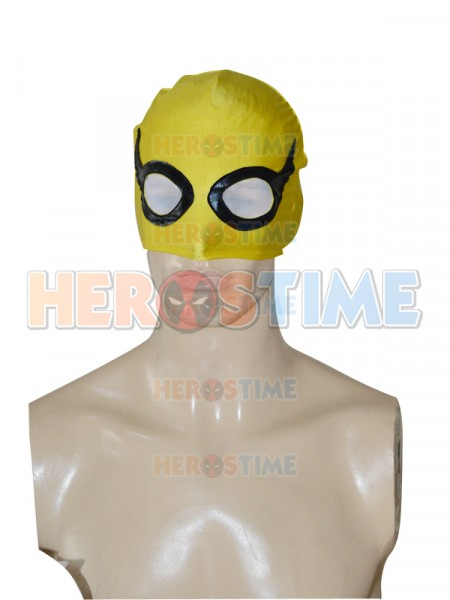 Iron Fist Yellow Superhero Spandex Hood