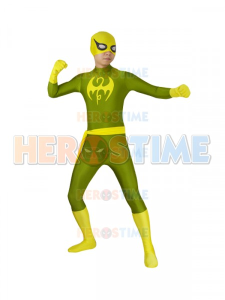 Iron Fist suit Marvel Future Fight  Superhero Costume