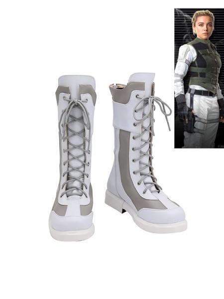 Black Widow Cosplay Yelena Belova Cosplay Boots