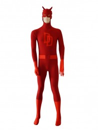 Daredevil Suit Spandex Superhero Costume
