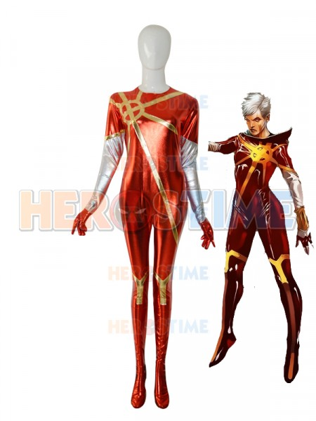 Phyla Vell Quasar Female Superhero Costume