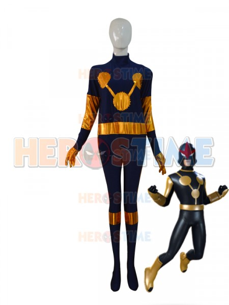 New Nova Thrasher Variant New Warriors Custom Superhero Costume