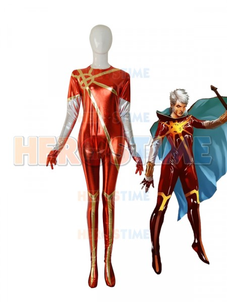 Phyla Vell Captain-Marvel Martyr Female Superhero Costume