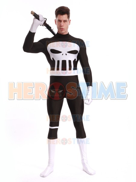 Disfraz de Spandex de Punisher para Adultos