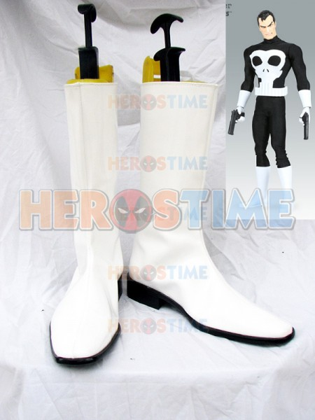 X-Men Comics Punisher Superhero Cosplay Boots
