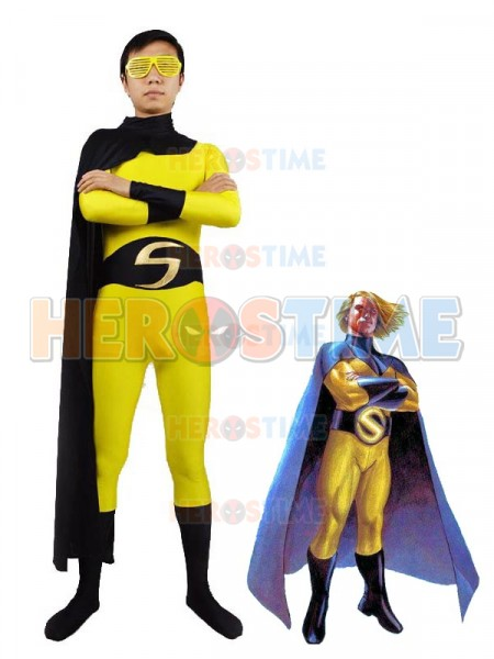 marvel superhero sentry spandex superhero costume