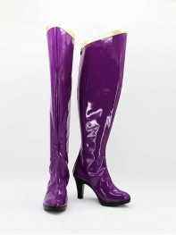 She-hulk The Avengers Female Purple Superhero Boots