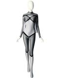El más nuevo traje de superhéroe Spandex Spider-woman Spandex