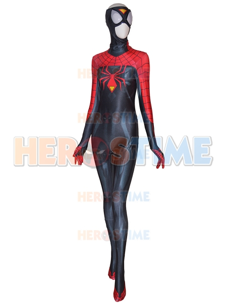 Spider-Woman Jessica Drew Newest Look Costume Spider-Woman Suit