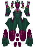 Vision Suit Wandavision Version Superhero Costume