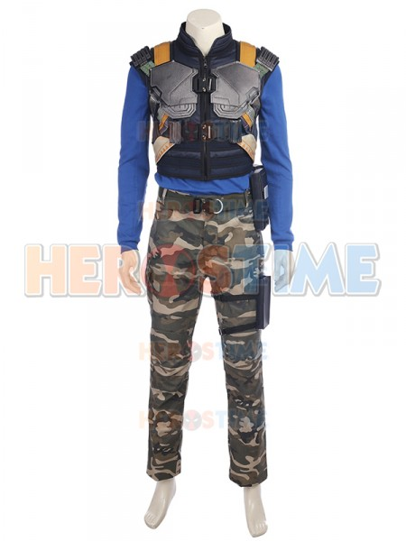 2018 Film Black Panther Costume Erik Killmonger Costume