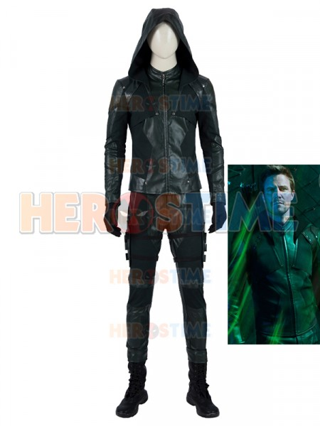 Green Arrow Costume Arrow Season 8 Superhero Costume Full Set Suit