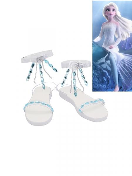 Frozen II Elsa Cosplay Shoes