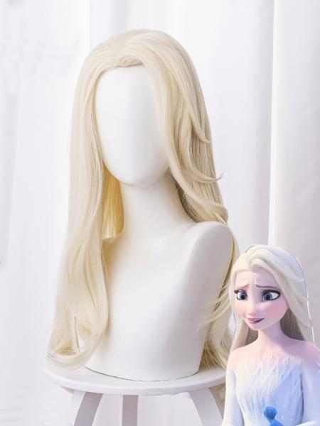 Frozen II Elsa Cosplay Wig