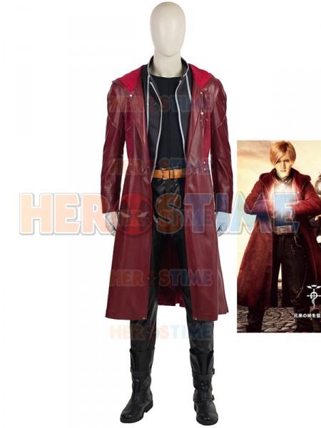 Fullmetal Alchemist  Traje de Edward Elric Cosplay