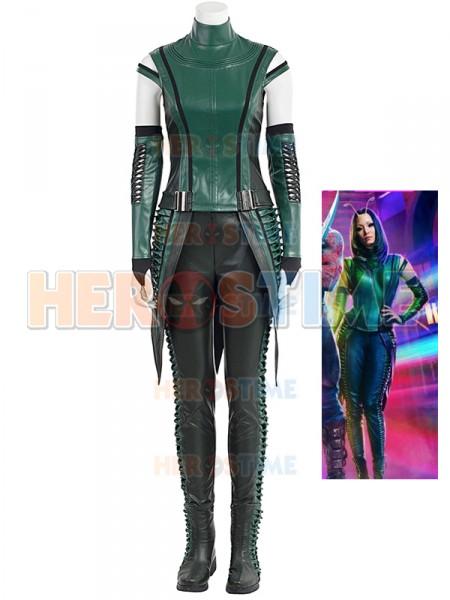 Guardianes de la Galaxia 2 Traje de Mantis Cosplay