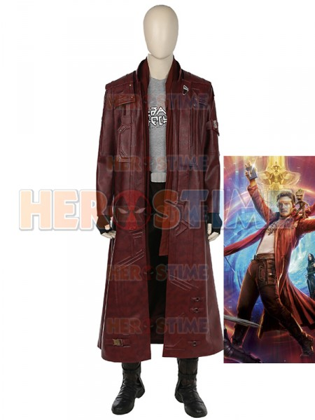 Guardianes de la Galaxia 2  Traje de Star-Lord Cosplay