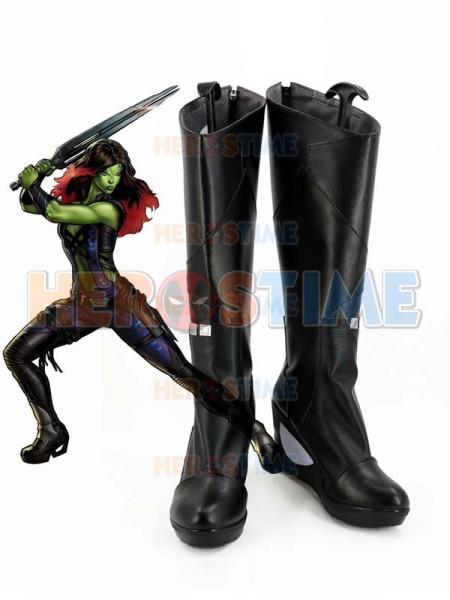 Gurdians of the Galaxy Gamora Cosplay Boots