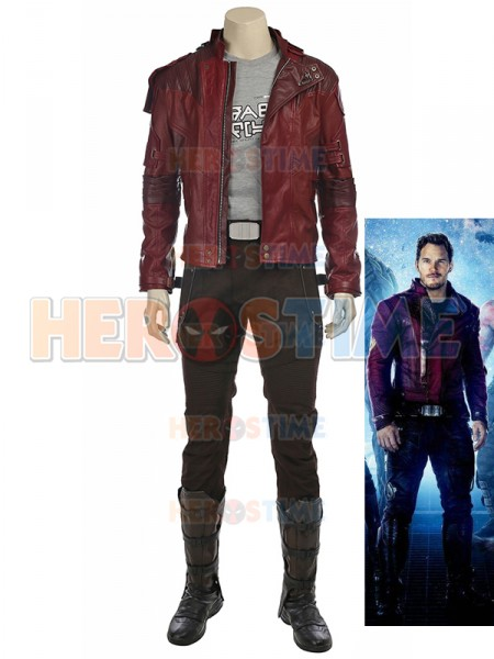 Gurdians of the Galaxy Star-Lord Cosplay Costume