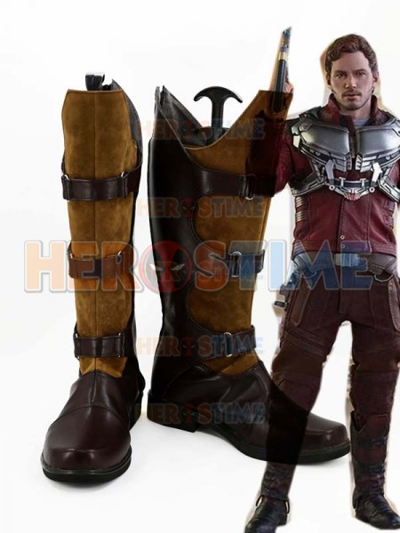 Gurdians of the Galaxy Star-Lord Peter Quill Cosplay Boots
