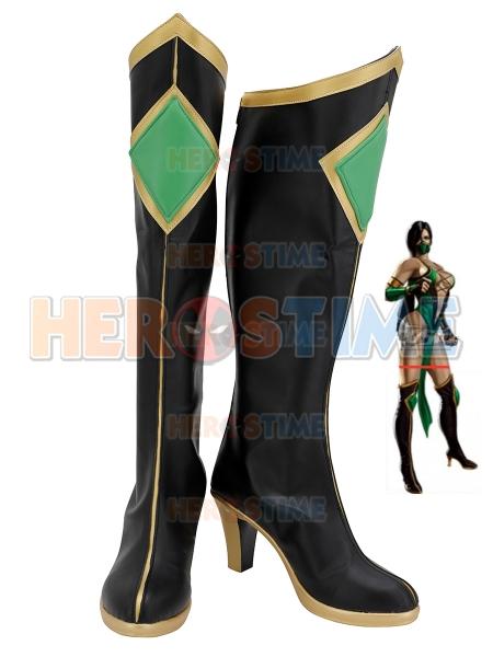 Mortal Kombat Jeannette Cosplay Boots