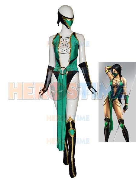 Mortal Kombat Disfraz de Jeannette Cosplay