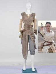 Star Wars 7 Rey Girl Movie Cosplay Costume