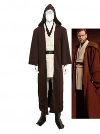 Star Wars Obi- Wan Kenobi Boy Movie Cosplay Costume