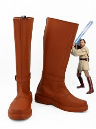 Star Wars Jedi Knight Obi-Wan Kenobi Cosplay Boots