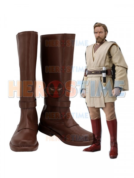 Obi-Wan Kenobi Shoes Star Wars Cosplay Boots