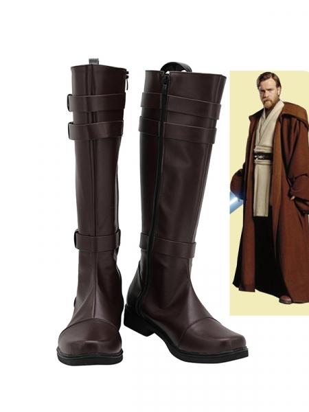 Star Wars Obi-Wan Kenobi Movie Cosplay Boots