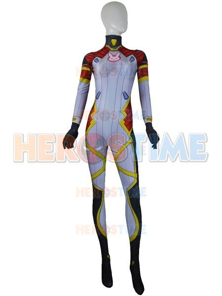 D.Va Costume Overwatch Girl Hero Cosplay Suit Recolored Style