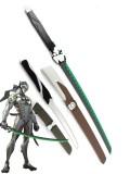 Overwatch Espada de Madera de Genji Shimada Cosplay