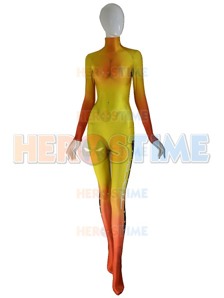 Overwatch Tracer Cosplay Costume Video Game Tracer Undersuit