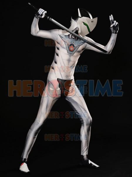 Overwatch  Traje de Genji en White Nihon Skin