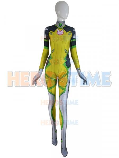 Overwatch  Traje de D.VA en Limón-Lime Skin
