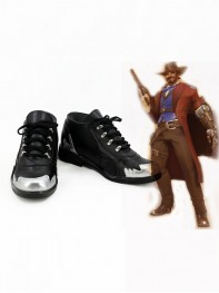 Overwatch Cosplay Costume Jesse McCree Cosplay Shoes