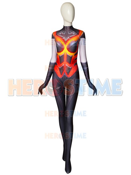 Overwatch D.Va Costume Destroyer Fuel Printed Costume