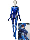 Overwatch D.Va Costume D.Va Dallas Fuel Printed Costume